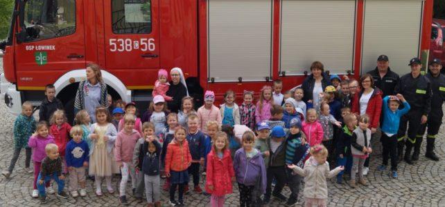 Spotkanie ze strażakami.