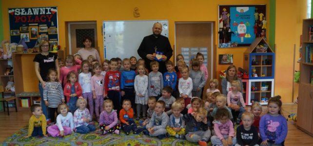 Spotkanie z misjonarzem- ks. Andrzejem Marmurowiczem.