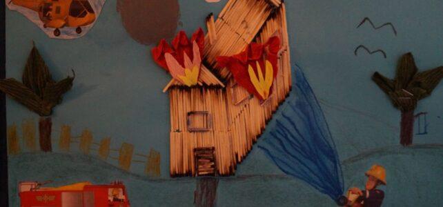 """Wyniki rodzinnego konkursu plastycznego """"Strażacy dbają o nasze bezpieczeństwo"""""""