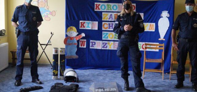 Wizyta policjantów.